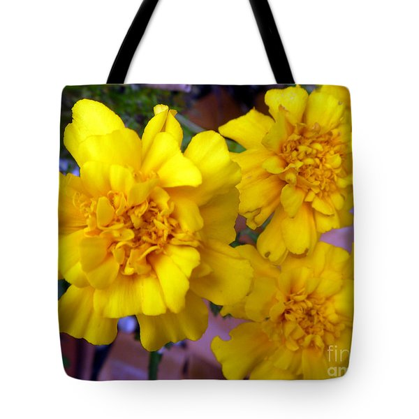 Marigold 3 Tote Bag by Alys Caviness-Gober