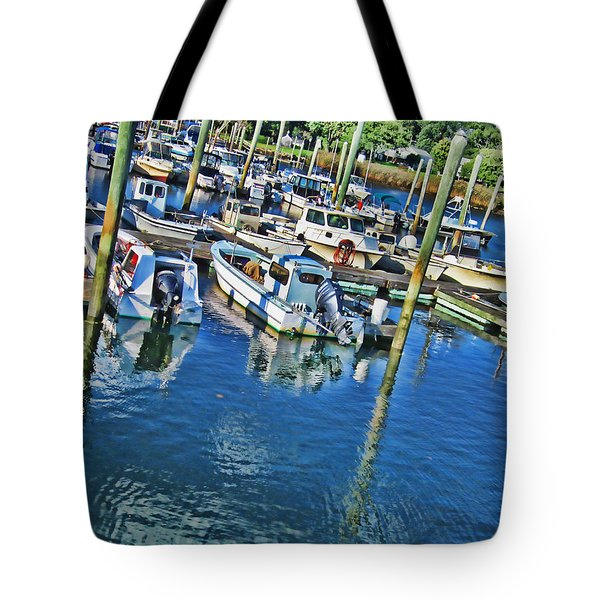 Marina Dock Tote Bag