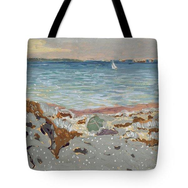 Marine Tote Bag by Edouard Vuillard