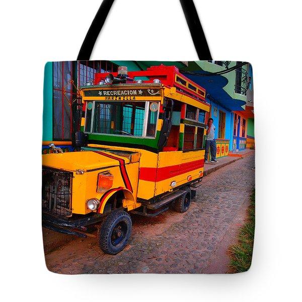 Marinilla Tote Bag by Skip Hunt