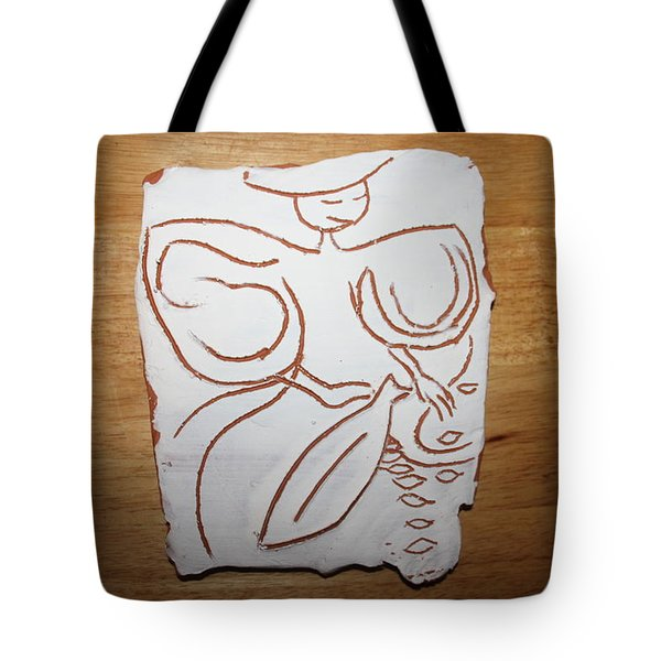 Market Seller 1 Tote Bag by Gloria Ssali