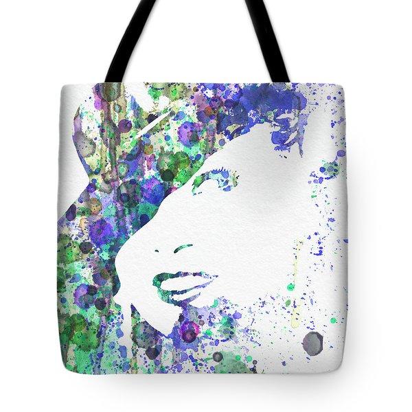 Marlene Dietrich Tote Bag by Naxart Studio