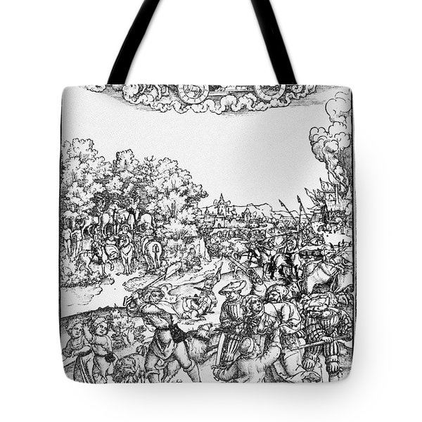 Mars, Roman God Of War Tote Bag by Photo Researchers