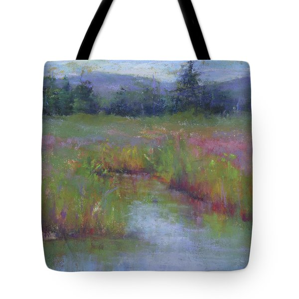 Marsh Colors Tote Bag