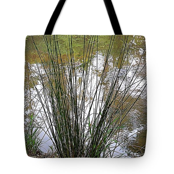 Tote Bag featuring the photograph Marsh Grass by Renee Trenholm