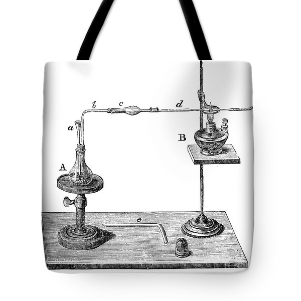 Marsh Test Apparatus, 1867 Tote Bag by Science Source