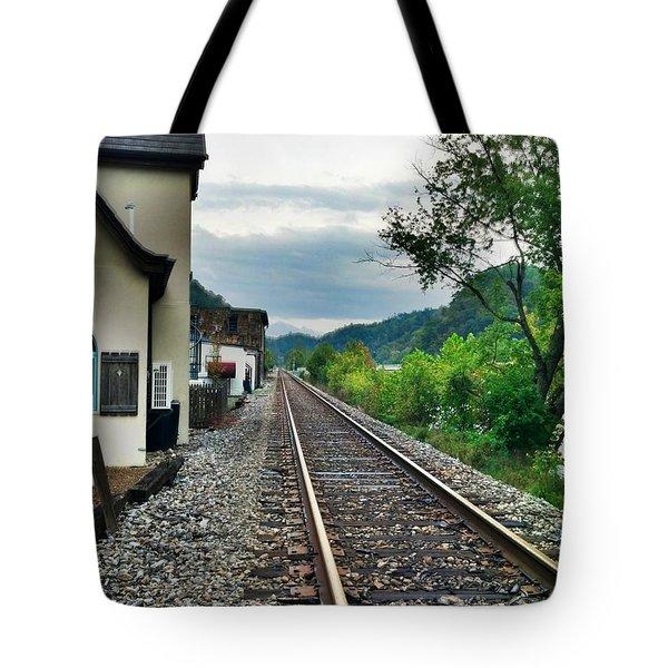 Marshall Nc Tote Bag by Janice Spivey