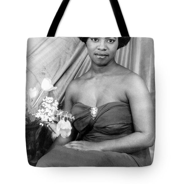 Martha Flowers (c1920- ) Tote Bag by Granger