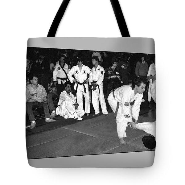 Martial Arts 4 Tote Bag by Jeff Breiman