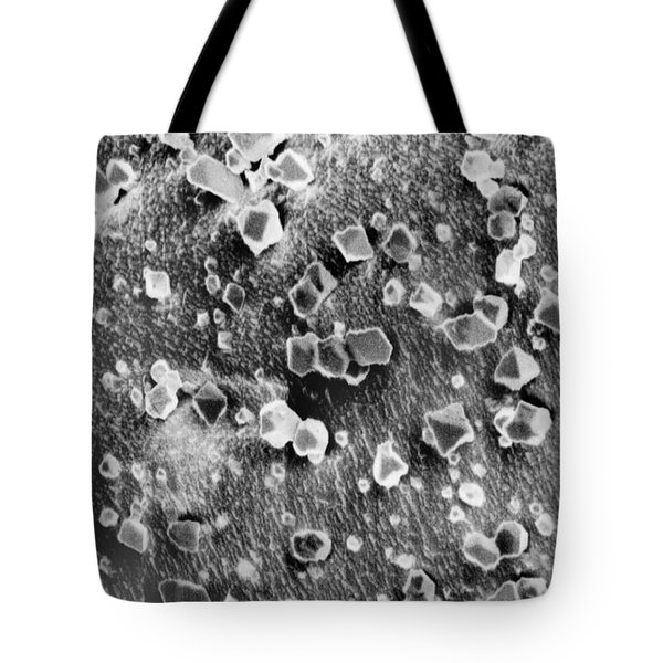 Martian Carbon Dioxide Crystals Tote Bag by National Snow and Ice Data Center