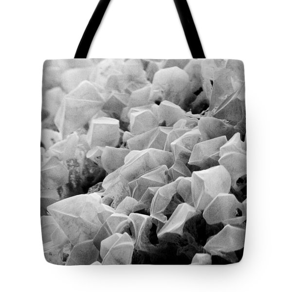 Martian Co2 Crystals Tote Bag by National Snow and Ice Data Center