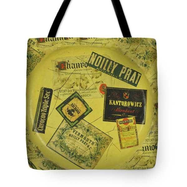 Martini Time Tote Bag by Bill Cannon