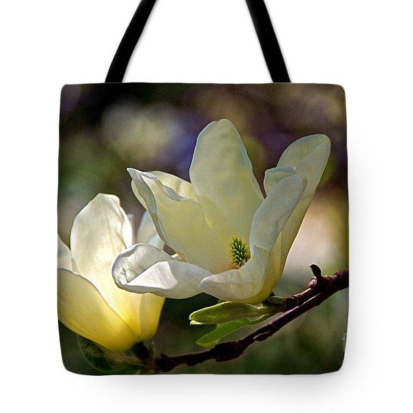 Marvelous Magnolia Tote Bag by Byron Varvarigos
