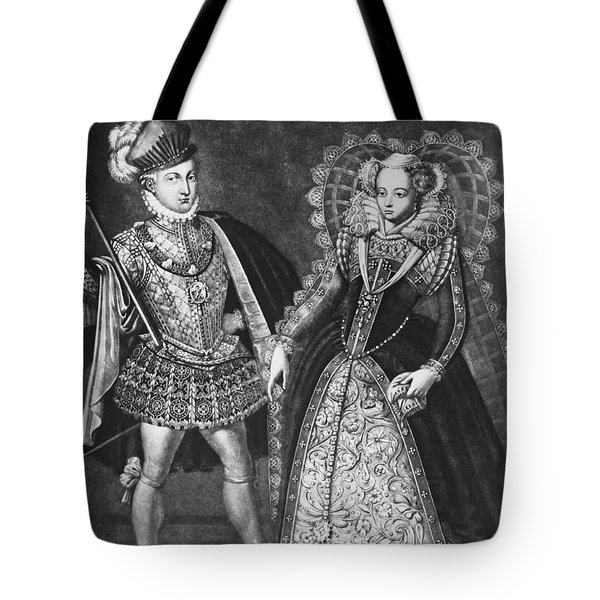 Mary, Queen Of Scots Tote Bag by Omikron