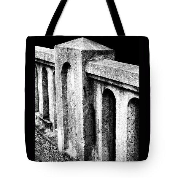 Mary Street Bridge Bristol Virginia Tote Bag