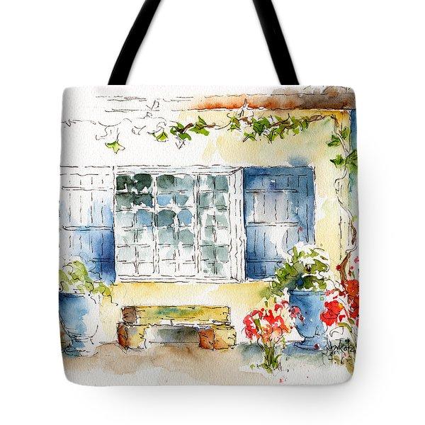 Mas St Antoine Tote Bag by Pat Katz