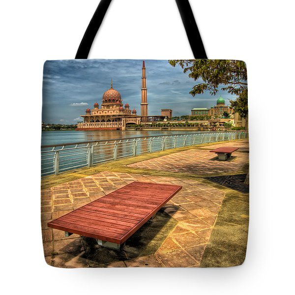 Masjid Putra Tote Bag by Adrian Evans