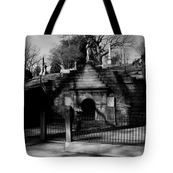 Masoleum2 Tote Bag by Karen Harrison
