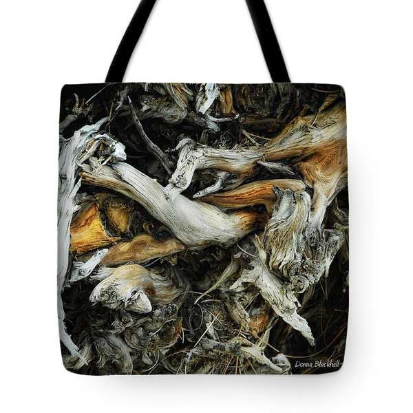 Mass Grave Tote Bag by Donna Blackhall