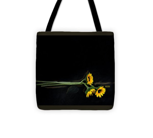 Master Sunflowers Tote Bag by J R Baldini M Photog