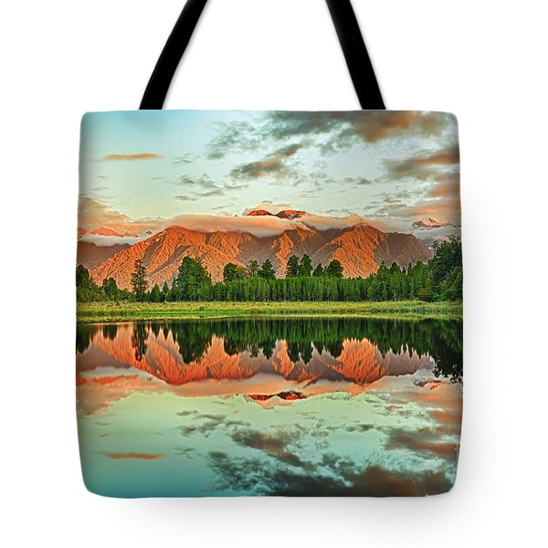 Matheson Lake Tote Bag by MotHaiBaPhoto Prints