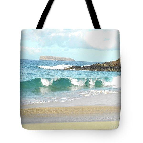 Maui Hawaii Beach Tote Bag by Rebecca Margraf