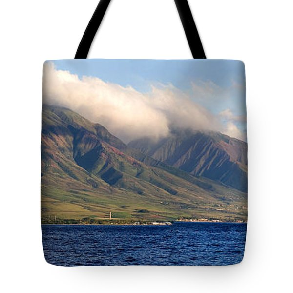 Maui Pano Tote Bag by Scott Pellegrin