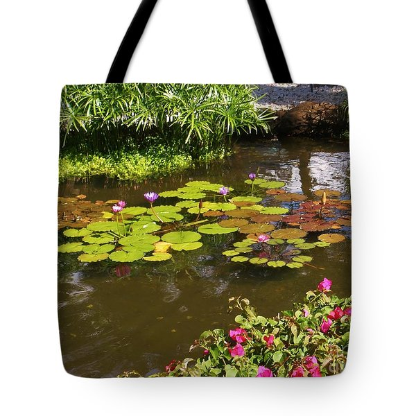 Maui Pond Tote Bag