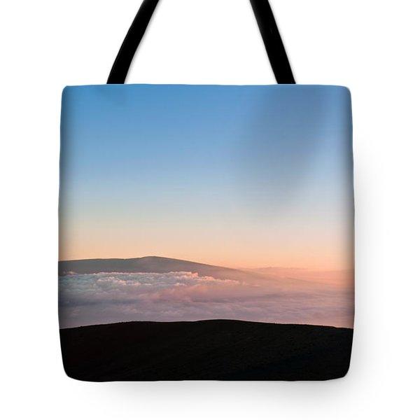 Mauna Loa Sunset Tote Bag
