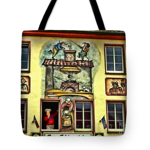 Max And Moritz Tote Bag by Joan  Minchak