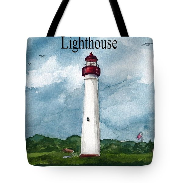 May The Magnificent Lighthouse  Tote Bag by Nancy Patterson