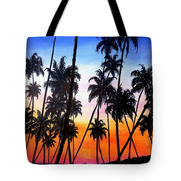 Mayaro Red Dawn Tote Bag by Karin  Dawn Kelshall- Best