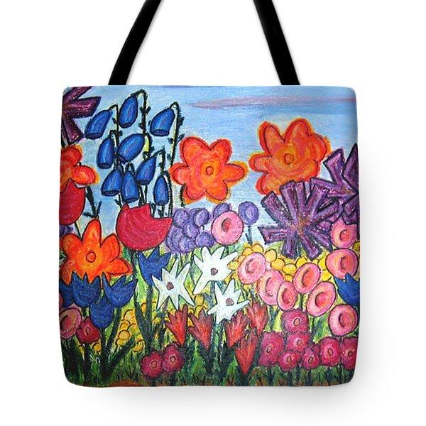 Maya's Garden Tote Bag