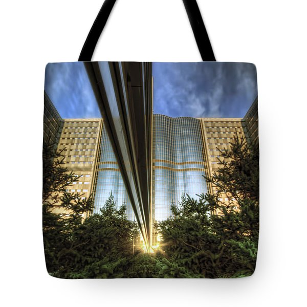 Tote Bag featuring the photograph Mayo Squared by Tom Gort