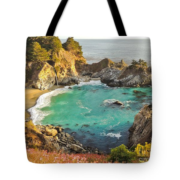 Mc Way Falls Cove Tote Bag