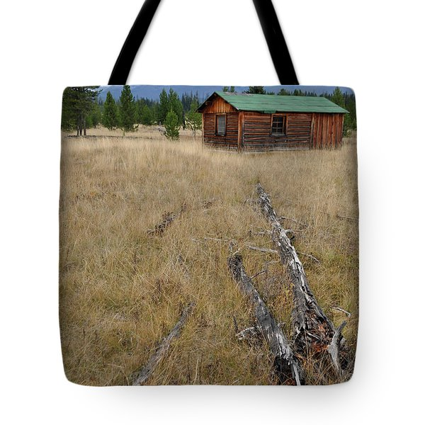 Mccarthy Family Cabin Glacier National Park Tote Bag