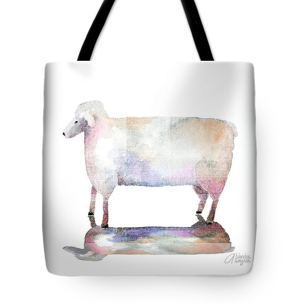 Me And My Colorful Shadow Tote Bag by Arline Wagner