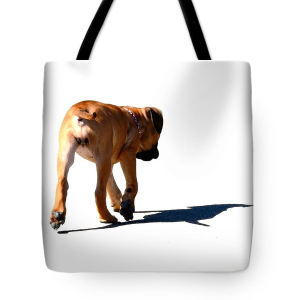 Me And My Shadow Tote Bag by Dale   Ford