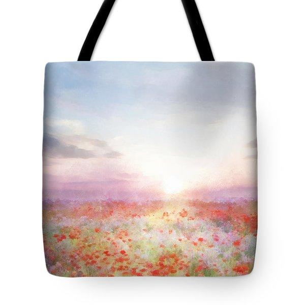 Meadow Flowers Tote Bag by Francesa Miller