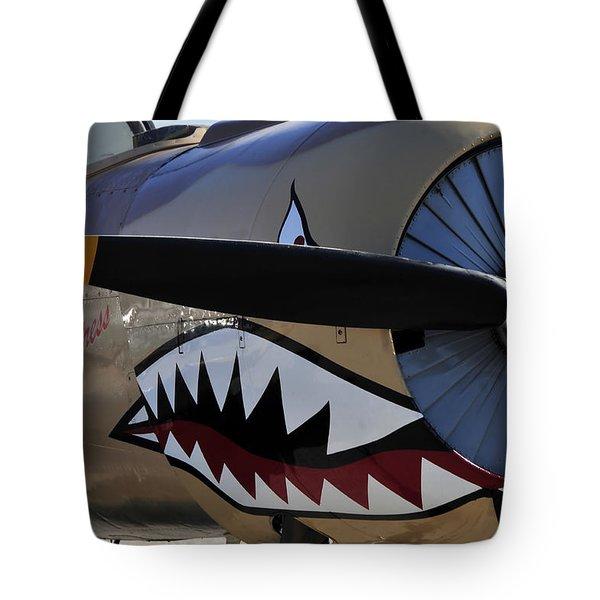 Mean Machine Tote Bag by David Lee Thompson