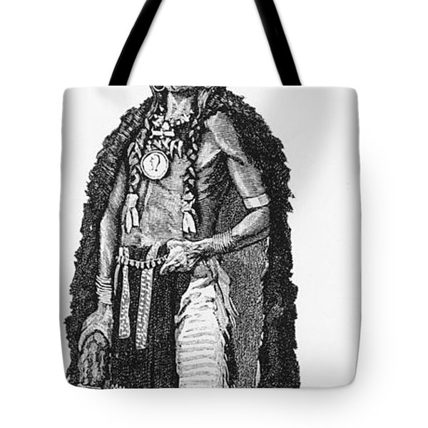 Medicine Elk Tote Bag by Science Source