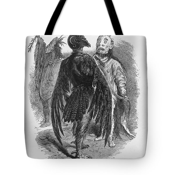 Medicine Men Tote Bag by Science Source