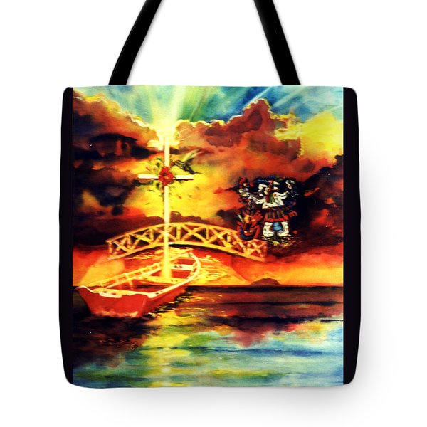 Medicine Student At Mexico Tote Bag by Estela Robles