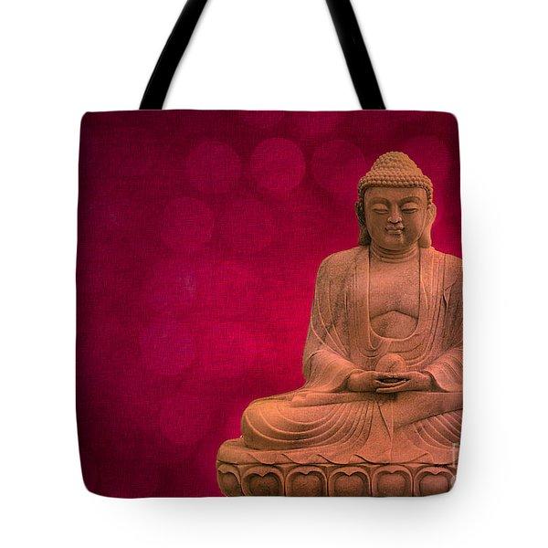 Meditation Tote Bag by Hannes Cmarits