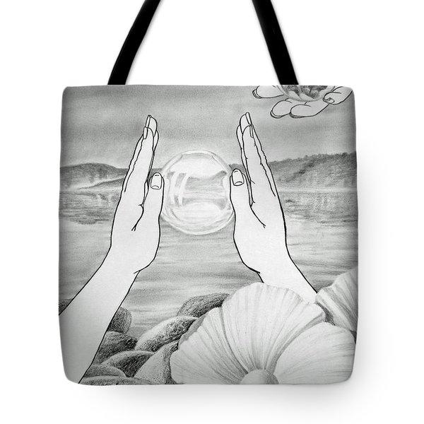 Meditation  Tote Bag by Irina Sztukowski