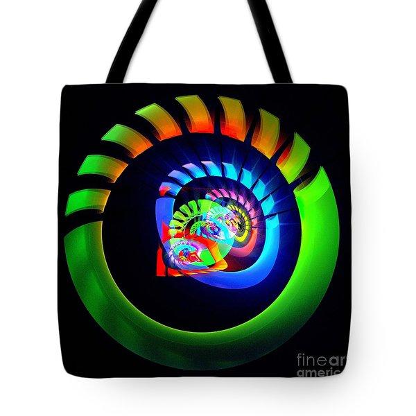 Meditation Tote Bag by Klara Acel