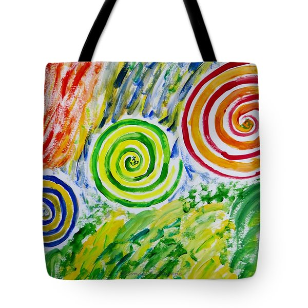 Tote Bag featuring the painting Meditation by Sonali Gangane