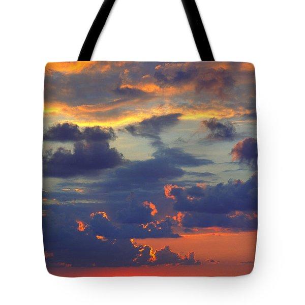 Mediterranean Sky Tote Bag