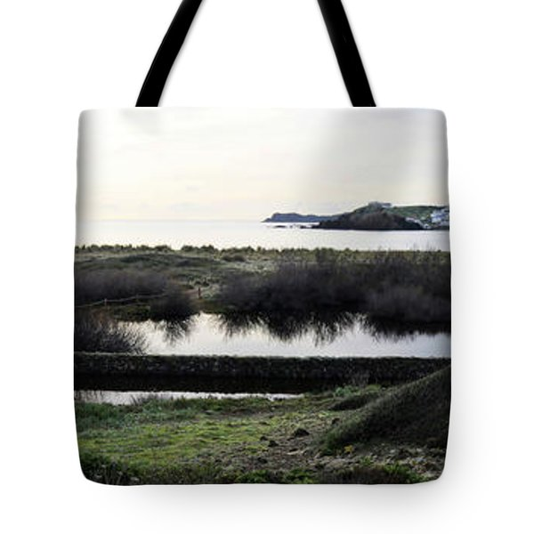 Tote Bag featuring the photograph Mediterranean View by Pedro Cardona