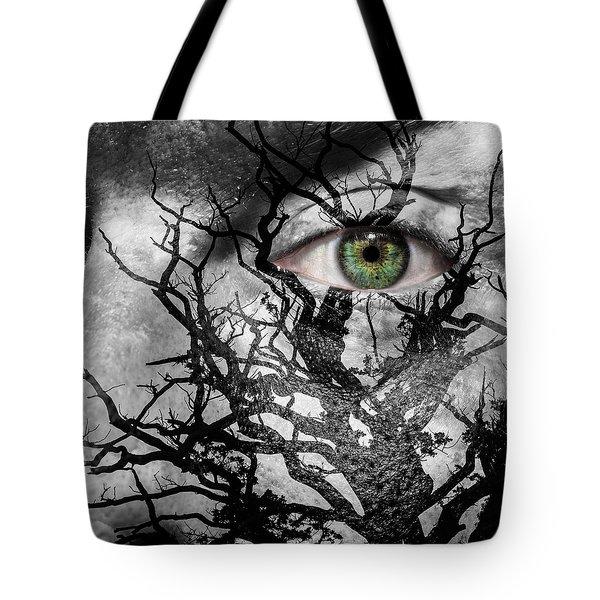 Medusa Tree Tote Bag by Semmick Photo